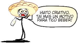 Hiato Criativo 5 - No México | webcomic, tirinha, tico tequila, relacionamento, quadrinhos, piada infame, namoro, mulher, méxico, Mexicano, Mexicana, infame, humor, hq, homem, hiato criativo, casal, cantada