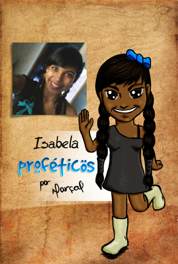 Segunda vencedora de uma versão profética: Isabela | Versão Profética, resultado, relacionamento, promoção, Proféticos, namoro, mulher, humor, homem, casal, caricatura