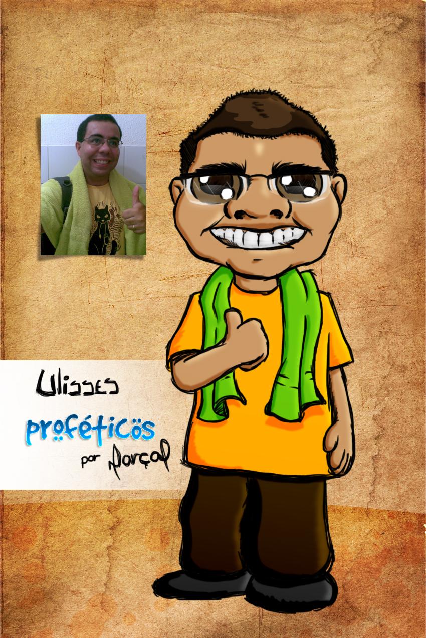 Primeiro vencedor de uma versão profética: Ulisses | Versão Profética, resultado, relacionamento, promoção, Proféticos, namoro, mulher, humor, homem, casal, caricatura