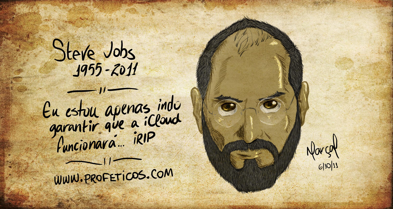 Steve Jobs die morre RIP