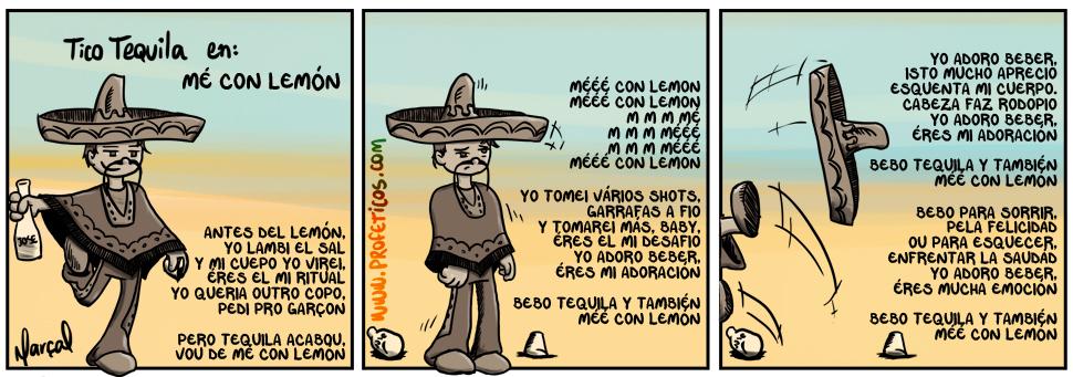 Tico Tequila Mé con lemón