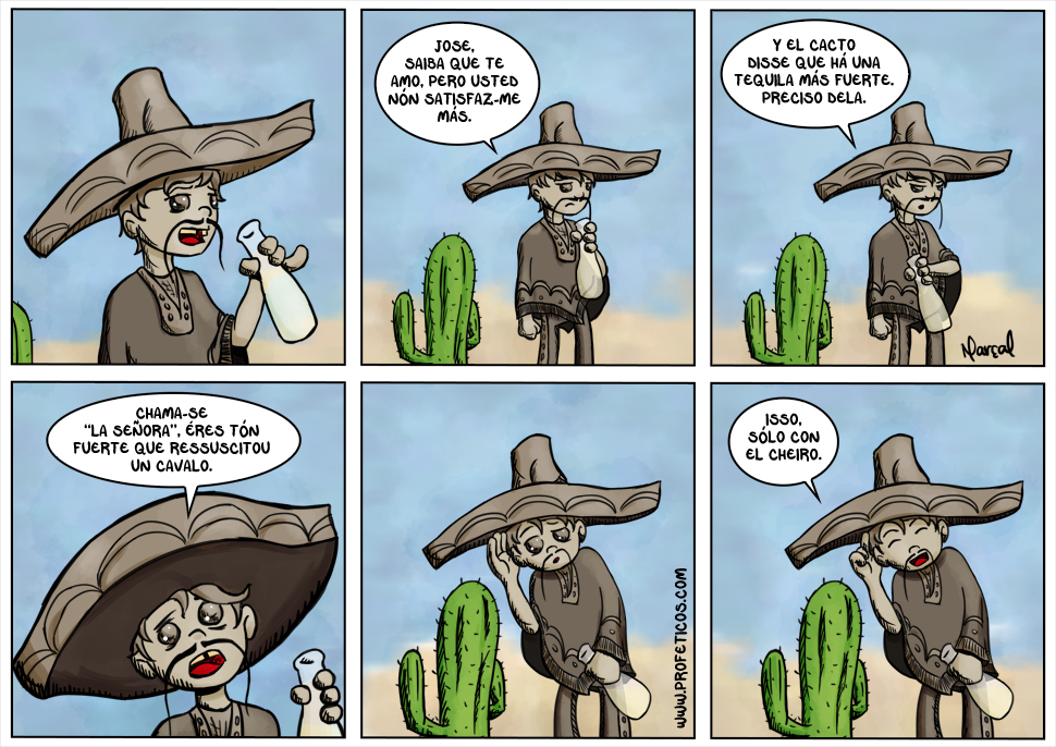"""Tico Tequila e """"La señora"""""""