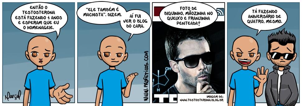Paulito e o aniversário do @eduTestosterona