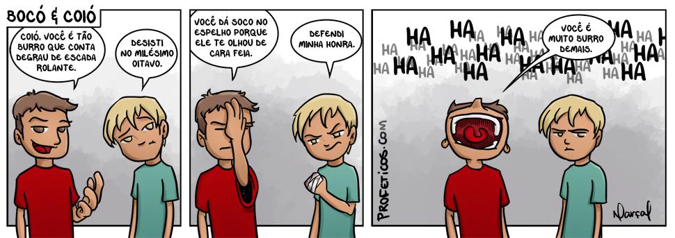 Bocó e Coió - Burrice