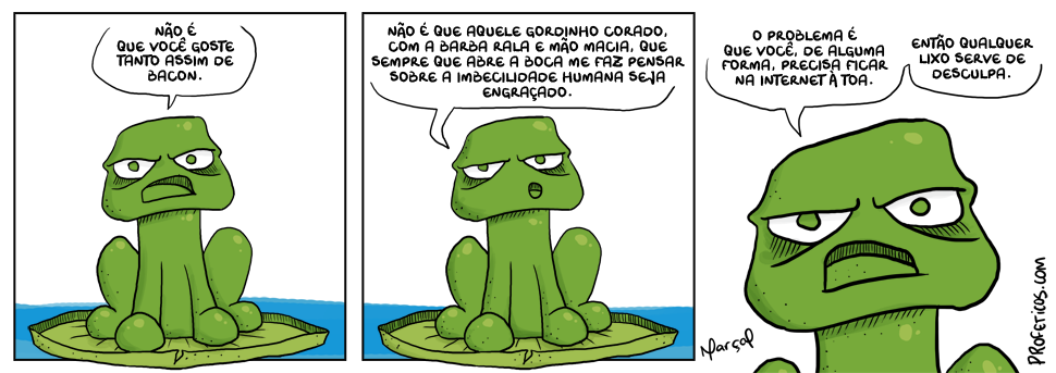 Zinza e a tira definitiva sobre humor na internet