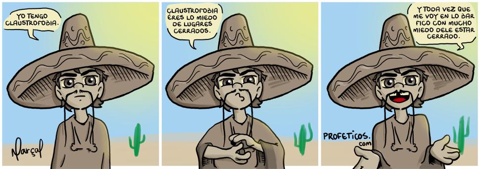Tico Tequila tem claustrofobia