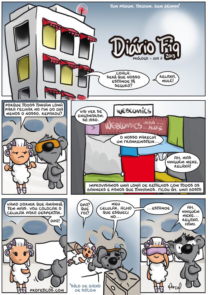 Diário FIQ 13 - Prólogo do dia 2