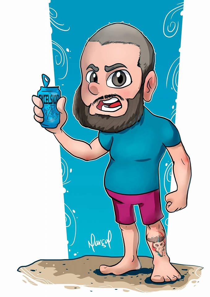 Caricatura Digital para o Clube do Bocó | rei bocó, digital, desenho, clube do bocó, catarse, caricatura
