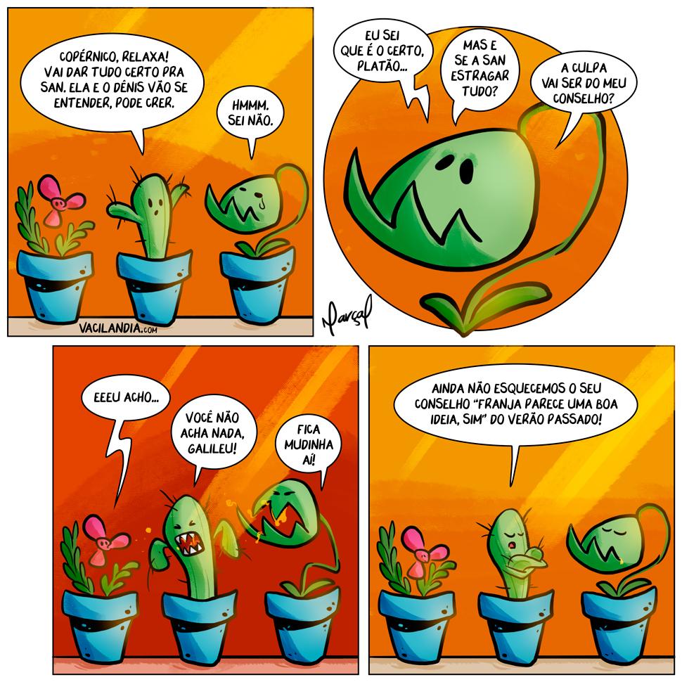 Nichos e as plantas conselheiras