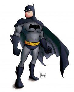 Batman-Sketch-illustration-ilustração-desenho-esboço