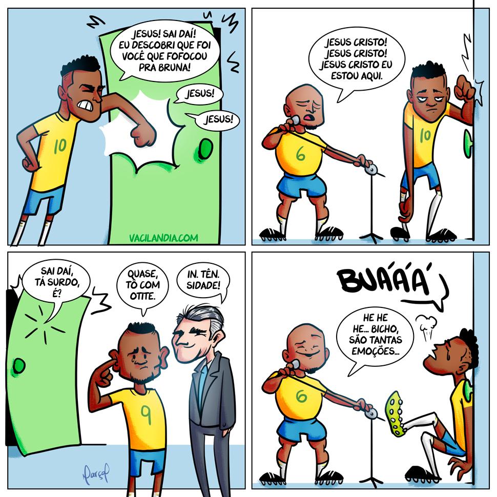 Neymar-Caindo-gabriel-jesus-roberto-carlos-tite-trocadilho