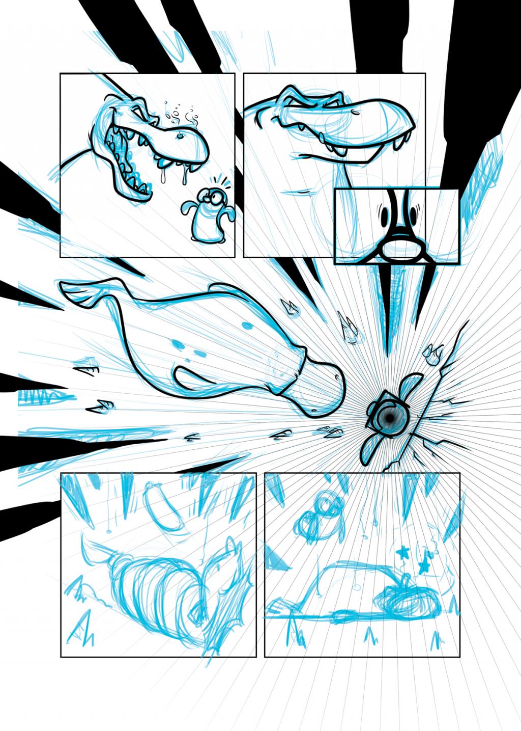 Livro Novo a Caminho | Will e Wes, webcomic, tirinha, roteiro, rascunho, quadrinhos, processo de produção, página, narrativa gráfica, livro, layout, humor, graphic novel, fazer quadrinhos